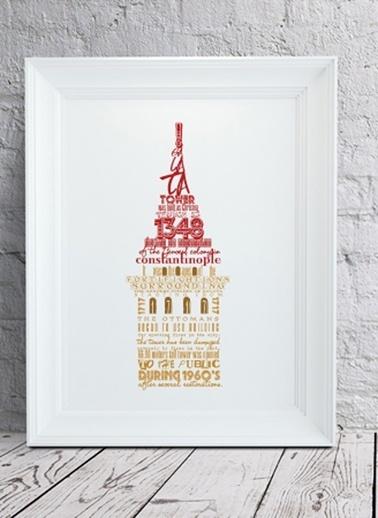 Galata Kulesi Tarihi Poster-Fabl